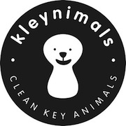 Kleynimals Stainless Steel Metal Toy Keys for Babies